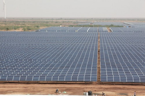 600 MW solar farm in Gujarat, India