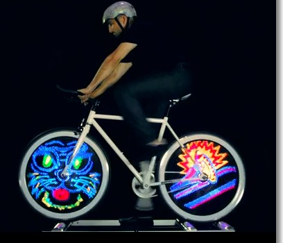 Monkey Light Pro - Bicycle Wheel Display System by MonkeyLectric — Kickstarter