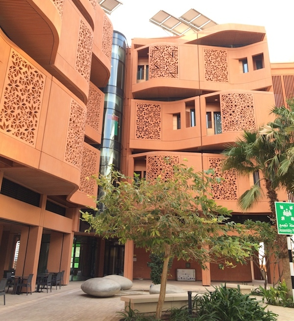 Masdar City energy efficiency 1