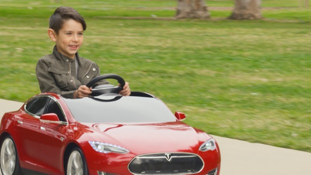 Radio Flyer Introduces Electric Tesla For Kids, Starting At $499